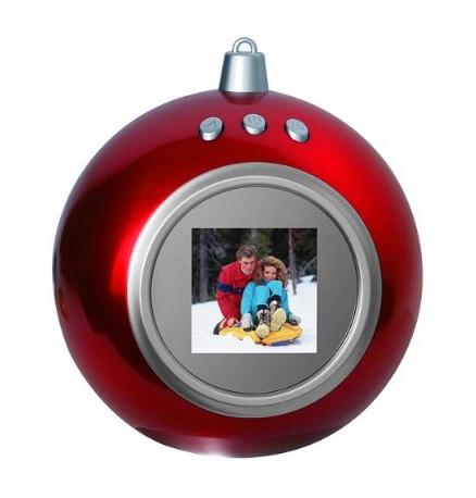 Digital Photo Ornament ($20)