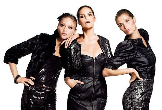 H&M Holiday 2009 Ads With Sasha Pivovarova and Missy Rayder 2009-11-23 09:00:22