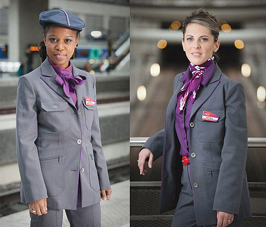 Christian Lacroix Designs Uniforms For French Railway SNCF 2009-12-14 10:00:22