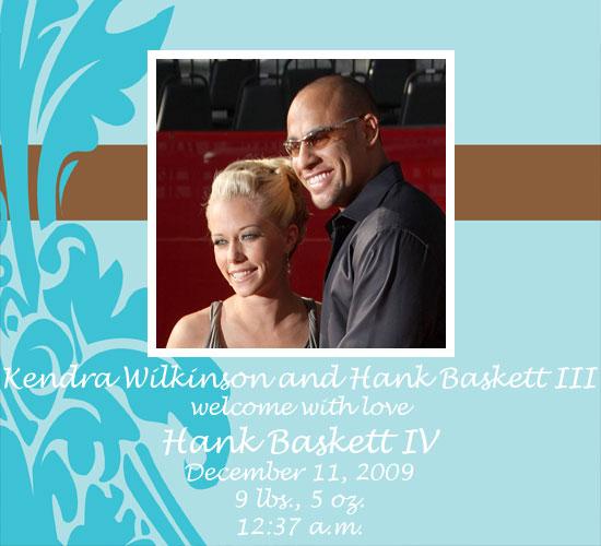 Kendra Wilkinson and Hank Baskett Have a Baby Boy