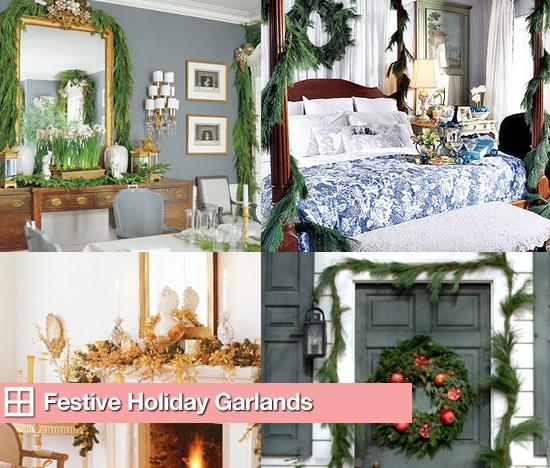 Festive Holiday Garlands