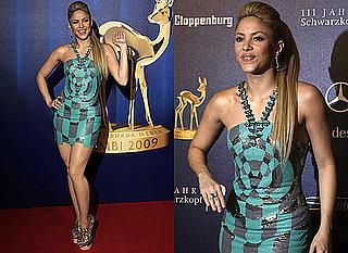 Shakira in Versace at 2009 Bambi Awards