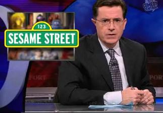 Stephen Colbert on Sesame Street's 40th Anniversary