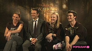 Video of New Moon's Volturi on Filming Fun and Premiere Plans