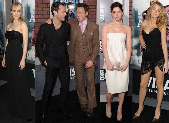 Photos of Rachel McAdams, Ashley Greene, Blake Lively At NYC Premiere of Sherlock Holmes 2009-12-18 06:00:00