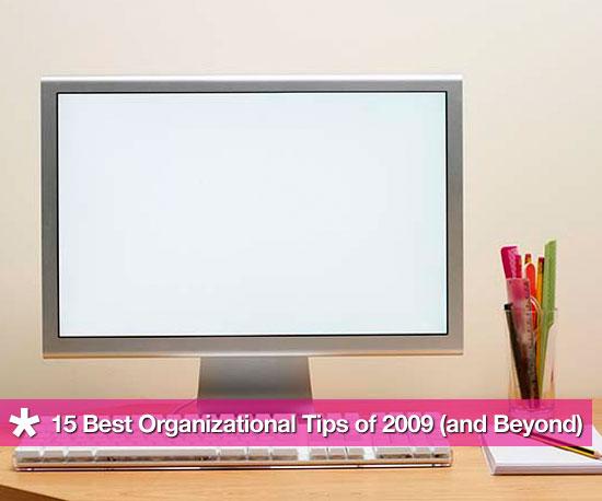 GeekSugar's Best Organizational Tips of the Decade