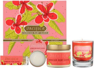 Wednesday Giveaway! Win a Pacifica Hawaiian Ruby Guava Travel Set