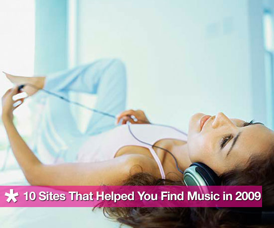 10 Websites That Helped You Find Music in 2009