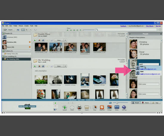 2. Picasa 3.5 Is Now Available For Download