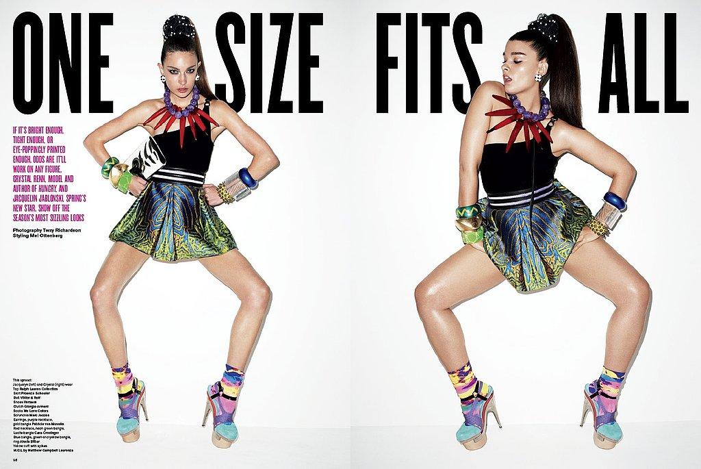 Girls on Film: V Magazine, #63, One Size Fits All