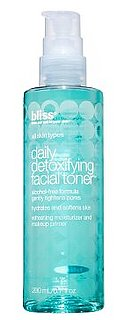 Reader Review of the Day: Bliss Daily Detoxifying Facial Toner