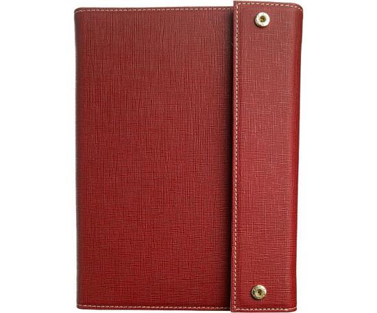 Madison Trifold Cover in Crimson ($40)