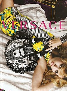 Georgia May Jagger Versace Ad Campaign Spring 2010 2009-12-30 10:00:08