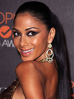 Nicole Scherzinger at the 2010 People's Choice Awards 2010-01-06 18:13:07