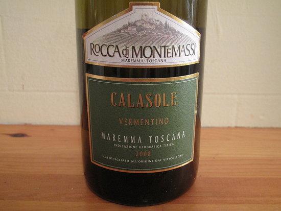 Happy Hour: 2008 Rocca di Montemassi Calasole Vermentino