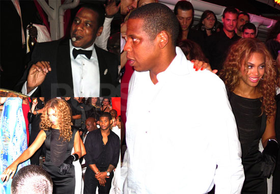 Photos of Jay-Z and Beyonce Knowles Celebrating New Year's in St. Bart's