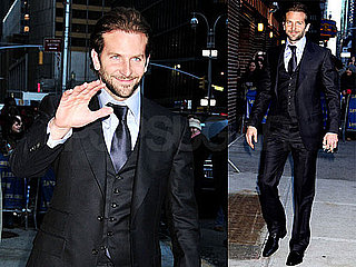 Photos of Bradley Cooper Outside The Late Show in NYC