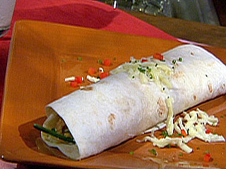 Breakfast Burrito Recipe With Chorizo and Salsa