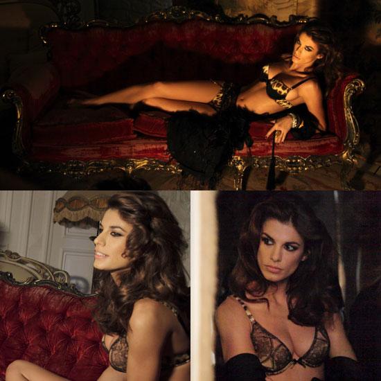 Photos of Elisabetta Canalis in Her Underwear For Roberto Cavalli Underwear 2010-01-11 20:23:29