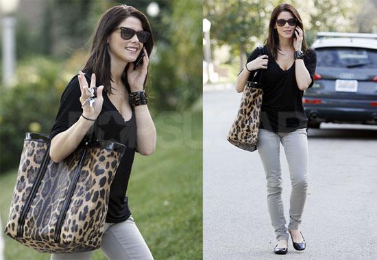 Photos of Ashley Greene Walking in LA