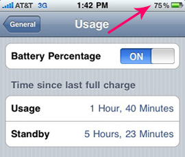 How to View Your iPhone's Battery Life as a Percentage
