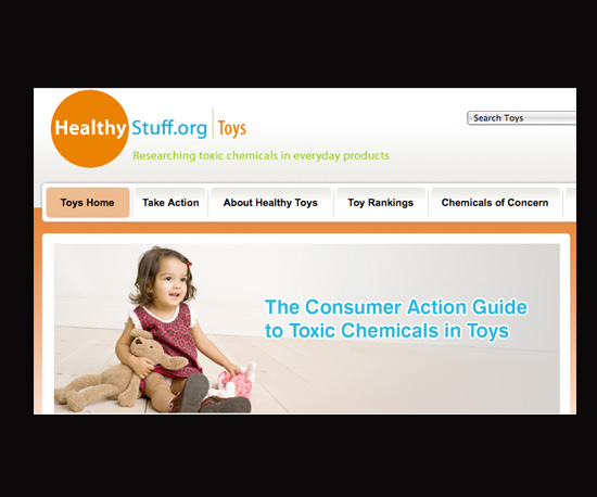Test Holiday Toys Before Your Tots Get Too Attached on HealthyStuff.org