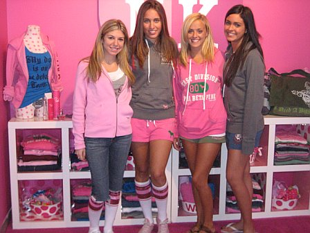 NY Fashion Week: Victoria's Secret Phi Beta Pink