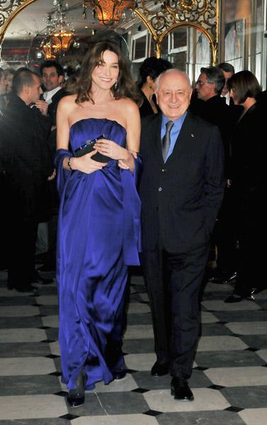 Carla Bruni-Sarkozy, Pierre Berge