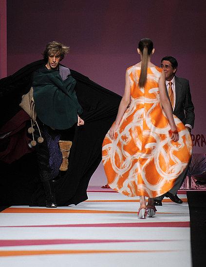 Sacha Baron Cohen's Bruno Causes Mayhem at Milan Fashion Week