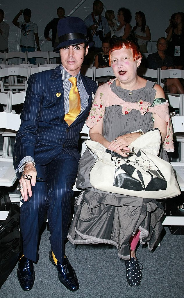 Front Row At Duckie Brown Spring 09 With Patrick Mcdonald