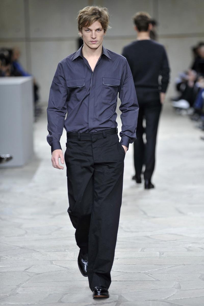 Paris: Hermes Men's Fall 2009