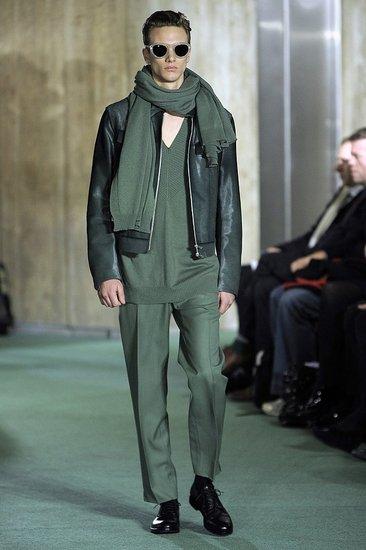 Fall 2009 Men's Trend Report: Monochrome Looks