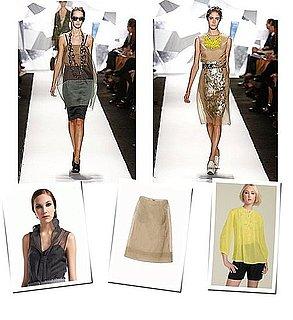 Inspired By Vera Wang Spring 2009: Layering Organza