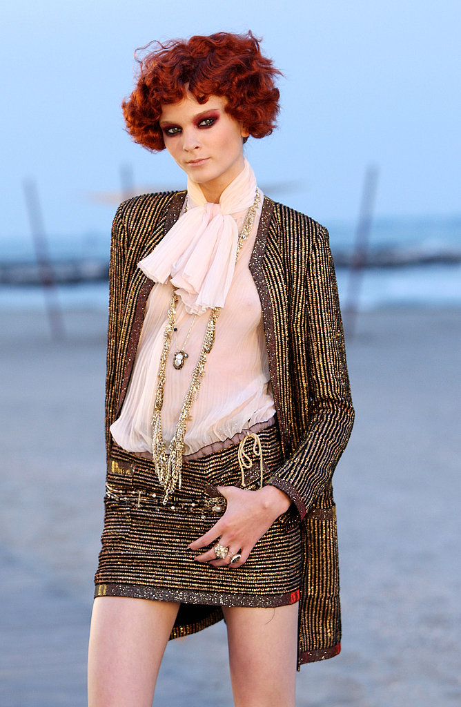 Chanel's Cruise 2010 Show Lands on the Boardwalk at Sunset in Venice
