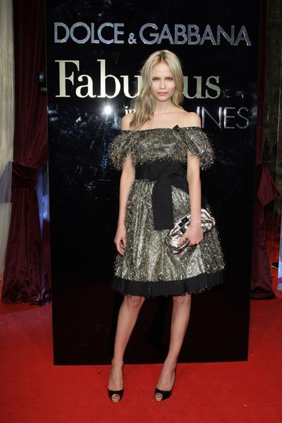 """May 22: Natasha Poly at Dolce & Gabbana's """"Fabulous in Cannes"""" bash at Le Baoli"""