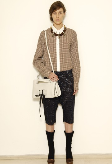 Consuelo Castiglioni Gives Ladies Who Lunch a Little Slouch for Marni Cruise 2010