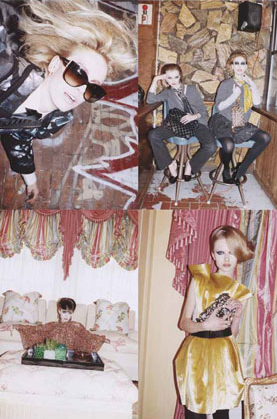 Marc Jacobs Fall 2009 Ads Are One Big Acid-Washed Party