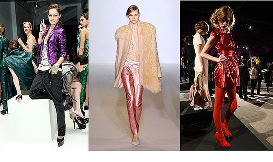 Fall 2009 New York Trend Report: Colored Metals