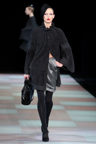 Milan Fashion Week: Giorgio Armani Fall 2009