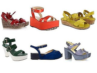 Meanwhile In Current Season: Chunky Platform Sandals In Every Color