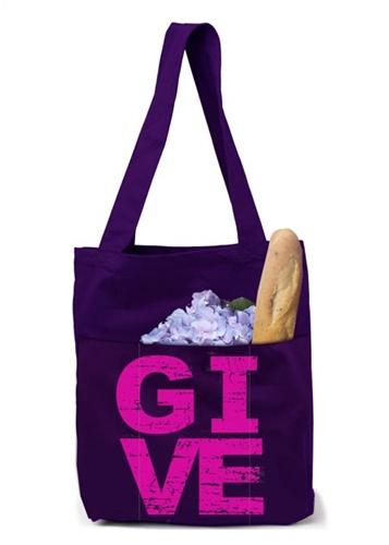 Organic Cotton Tote Bag, $25 (20% discount through Someone Spoil Me)