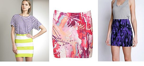 Shopping: Body-con Skirts In Bright Colors