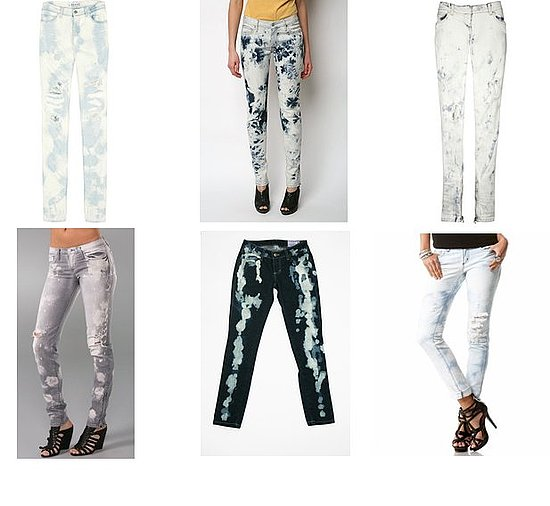 Shopping: Bleached Denim For Summer