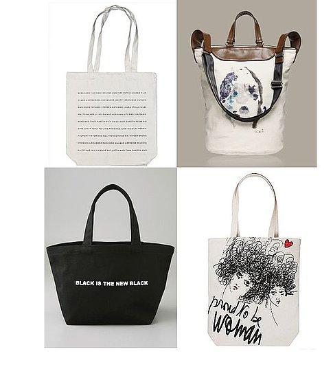 Shopping: Fashion-Forward Canvas Totes For All Seasons