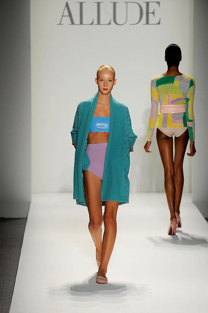 New York Fashion Week: Allude Spring 2010