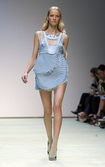 London Fashion Week: Louise Goldin Spring 2010