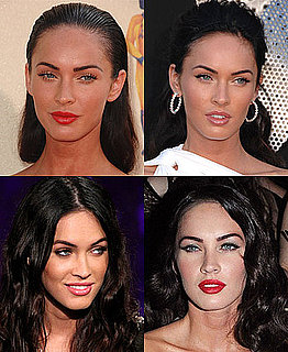 Pictures of Megan Fox's Lipstick