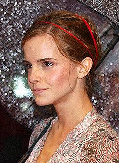 How-To: Emma Watson's Rainy Day Updo