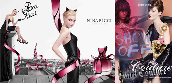 New Fragrances Ricci Ricci and Juicy Couture Couture Debut In August