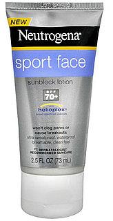 Review of Neutrogena Sport Face Sunblock Lotion SPF 70